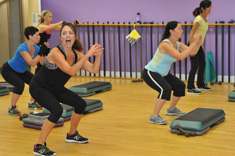 Fitness Center with Group Exercise Classes Montrose