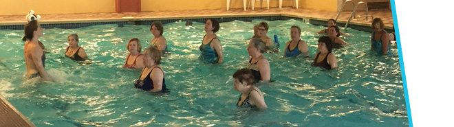 Aquatic Group Exercise at Premiere Fitness Montrose, NY